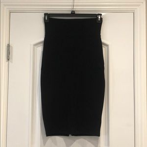 Bebe Black Pencil Skirt